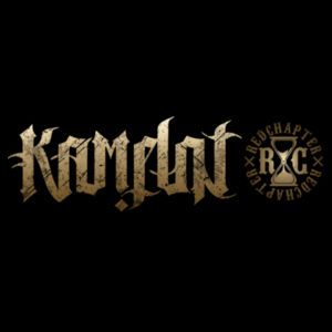 KAMELOT NATION AMBIGRAM - PREMIUM UNISEX FACE MASK - BLACK Design
