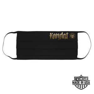 KAMELOT NATION AMBIGRAM - PREMIUM UNISEX FACE MASK - BLACK Thumbnail
